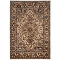 Rizzy Home Bellevue Collection BV3206 Tan Area Rug (7'10 x 10'10)