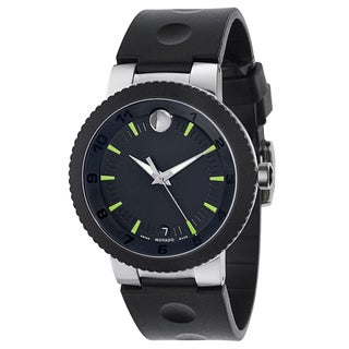 Movado Men's 0606928 Sport Edge Stainless Steel Watch
