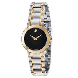 Movado Women's 0606951 Stiri Two-tone Stainless Steel Watch|https://ak1.ostkcdn.com/images/products/11036855/P18050606.jpg?impolicy=medium