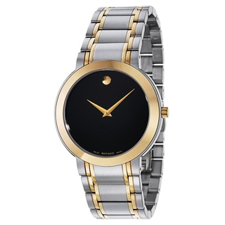 Movado Men's 0606950 Stiri Two-tone Stainless Steel Traditional Bracelet Watch