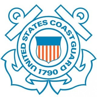 United States Coast Guard Car Decal