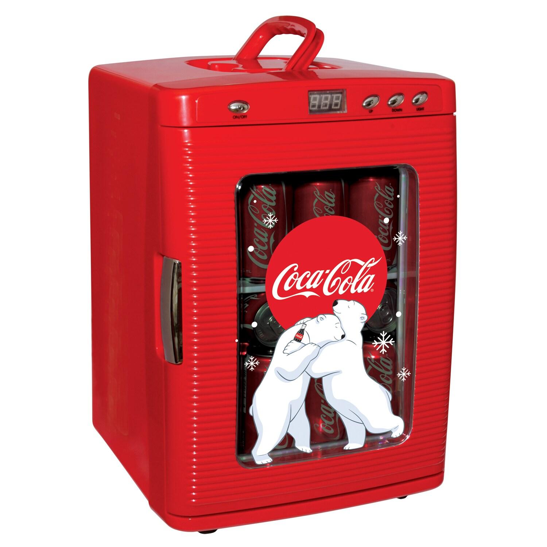 Koolatron Coca Cola 28-Can Fridge (KWC25), Red (Plastic)