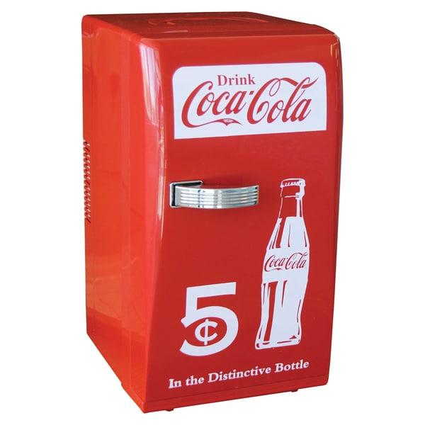 Koolatron coca cola retro fridge free shipping today - Nevera coca cola retro ...