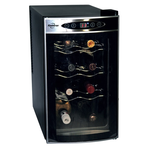 Koolaton wc08 8 bottle wine cooler free shipping today for Modern homes 8 bottle wine cooler