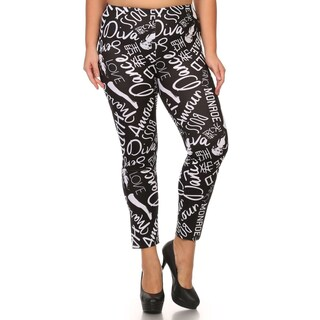 Women's Marilyn Monroe Plus Size Leggings (More options available)