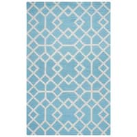 Rizzy Home Caterine Collection CE9487 Blue Area Rug (8'x 10')