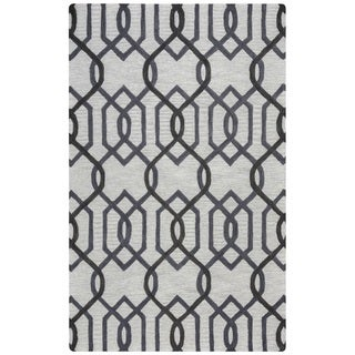 Rizzy Home Caterine Collection CE9526 Grey Area Rug (9'x 12')