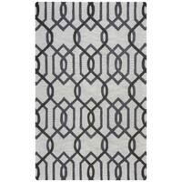 Rizzy Home Caterine Collection CE9526 Grey Area Rug - 9'x 12'