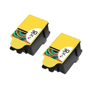 2 Pack Kodak 1341080 #30XL Color Compatible Ink Cartridge For Kodak Hero 3.1 5.1 ( Pack of 2 )