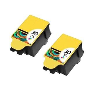 2 Pack Kodak 1341080 #30XL Color Compatible Ink Cartridge For Kodak Hero 3.1 5.1 ( Pack of 2 )