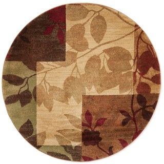 Home Dynamix Tribeca Collection HD5282-999 Multicolored Area Rug (5'2 Round)