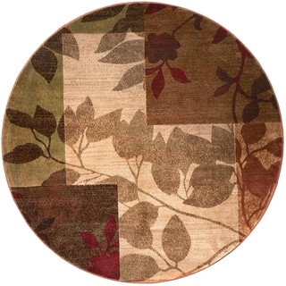 Home Dynamix Tribeca Collection HD5282-999 Multicolored Area Rug (7'10 Round)