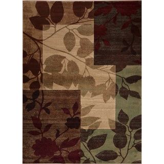 """Home Dynamix Tribeca Collection Contemporary Multicolored 3-PC Set Area Rug (5'2""""X7'2"""", 1'9""""X7'2"""", 18.9"""" X 31.5)"""