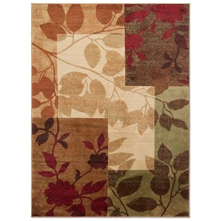 """Home Dynamix Tribeca Collection Contemporary Multicolored Area Rug - 3'3"""" x 4'7"""""""
