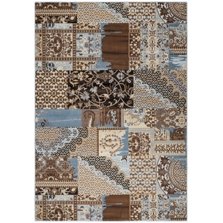 Rizzy Home Bennington Collection BI5564 Ivory Area Rug (9'2 x 12'6)