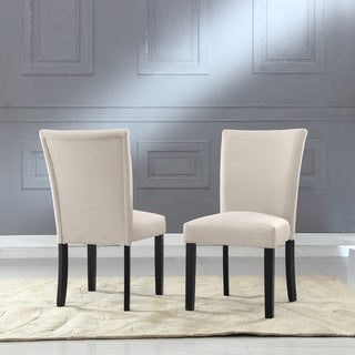 Sally Classic Upholstered Fabric Dining Chair (Set of 2)