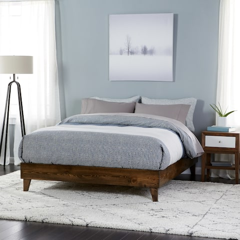 Kotter Home Solid Wood Mid Century Platform Bed