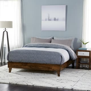 Wood Mid-century Platform Style Bed|https://ak1.ostkcdn.com/images/products/11037258/P18051034.jpg?impolicy=medium