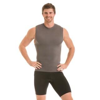 Insta Slim Men's Sleeveless Crew Neck Compression T-Shirt