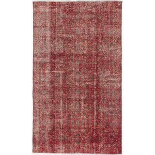 ecarpetgallery Melis Vintage Red Wool Rug (5'11 x 10'0)