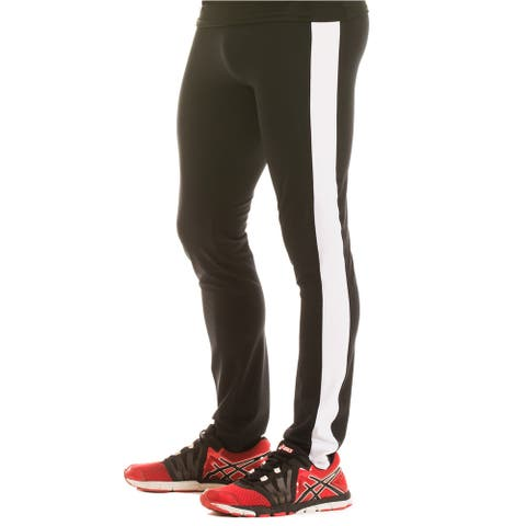 Insta Slim Men's Compression Colorblock Pants