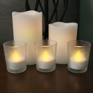 8 Piece Flamess LED Candle Set
