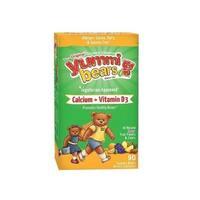 Yummi Bears Calcium + Vitamin D3 (90 Gummies)