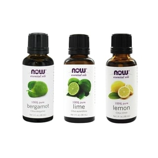 Now Foods 1-ounce Essential Oils Uplifting Set of 3 (Bergamot, Lemon, Lime)