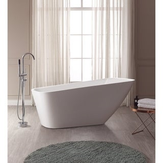 Avanity Rain Acrylic Rectangular Bathtub
