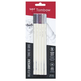Tombow Irojiten Colored Pencils Cool Grey (Pack of 5)