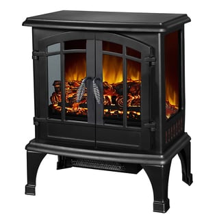 Jax 23-inch Freestanding Electric Fireplace Indoor Heater Stove