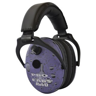 Pro Ears Pro 300 Electronic Hearing Protection and Amplification NRR 26 Purple Rain Earmuffs
