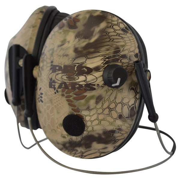 Pro Ears Pro 200 Behind The Head Headband Low Profile Cup Highlander Electronic Hearing Protection and Amplification Ear Pieces