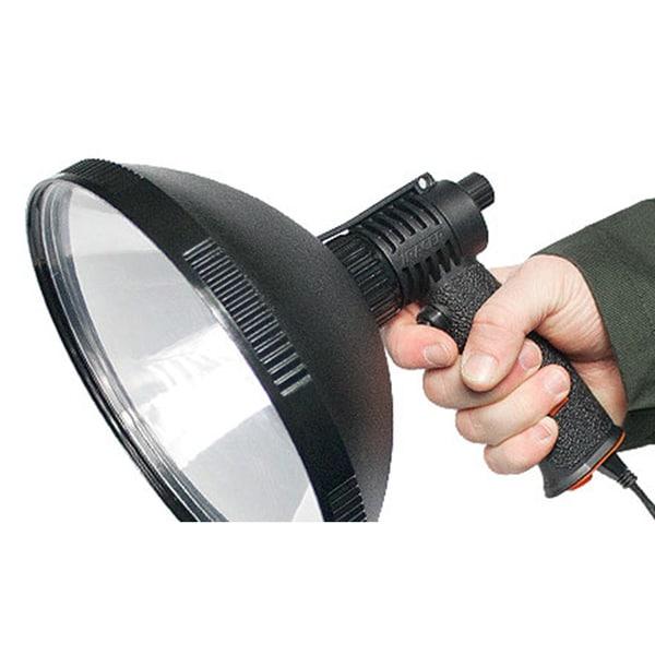 Tracer Lighting - 210 Variable Power TR2100 Sport Light 100W Bulb Tactical Lights 800 Meter Beam Spot Light
