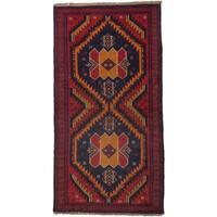 ecarpetgallery Kazak Red Wool Rug (3'5 x 6'7)