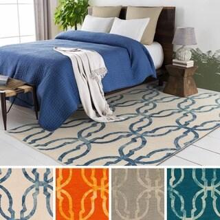 Hand-Tufted Kadarshian Wool Rug (8' x 10')