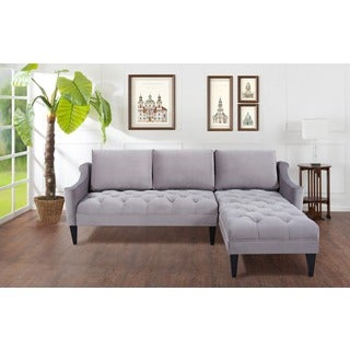 Jennifer Taylor Amelie Reversible Chaise Sectional