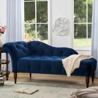 Jennifer Taylor Samuel Tufted Chaise Lounge