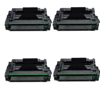 4PK Compatible Q7551X Toner Cartridges For HP LaserJet P3005  P3005DN P3005N P3005X M3027 MFP M3035 ( Pack of 4)
