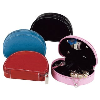 Ladies Leather Jewelry Case