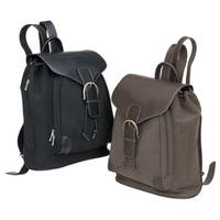 Lawyer College Drawstring Vintage Bellino Leather Backpack Bag