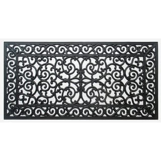 First Impression Audie Rubber Entry Double Doormat (23.62 x 47.25)