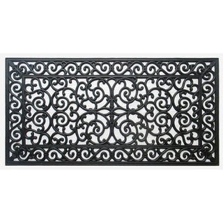 First Impression Audie Durable And Attractive Rubber Entry Double Doormat  (1u002711 X 3