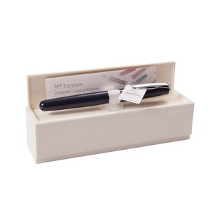 Tombow ZOOM 505SW Navy Rollerball Pen with Austrian Crystals