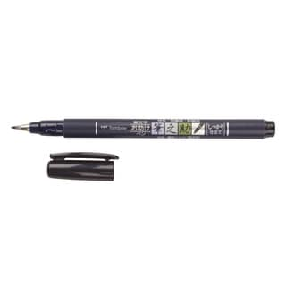 Tombow Fudenosuke Brush Pen Fine Tip Black