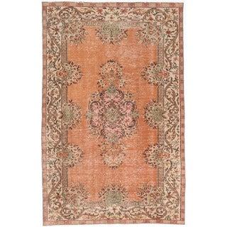 ecarpetgallery Melis Vintage Brown Wool Rug (5'11 x 9'9)