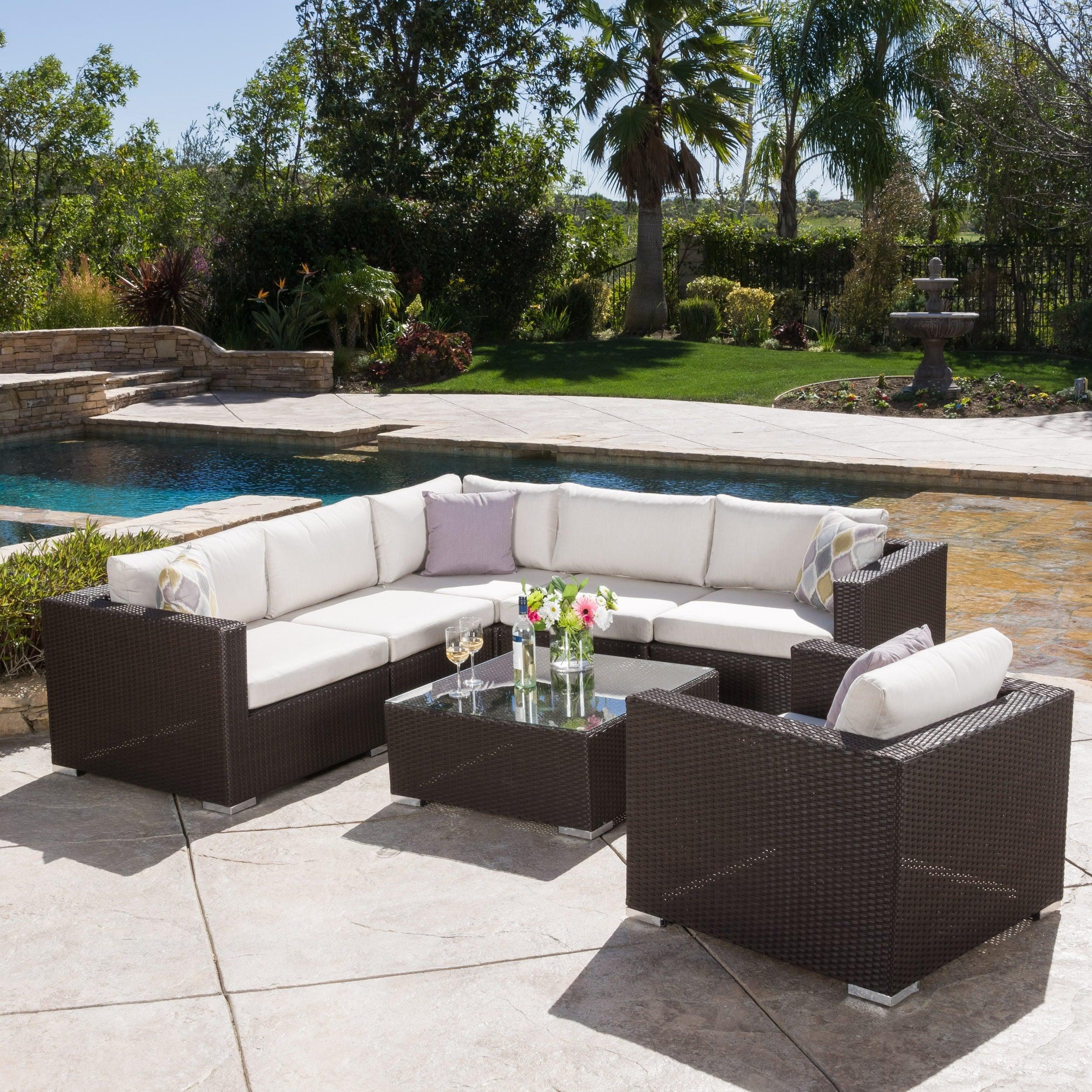 sunbrella patio furniture find great outdoor seating dining rh overstock com sunbrella outdoor furniture sets sunbrella outdoor furniture canada