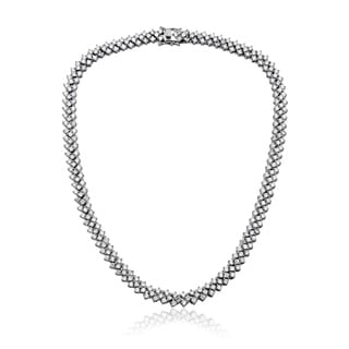 Collette Z Sterling Silver Braided Links Necklace