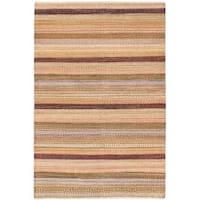 ecarpetgallery Finest Ziegler Chobi Pink Wool Rug - 5'5 x 8'2