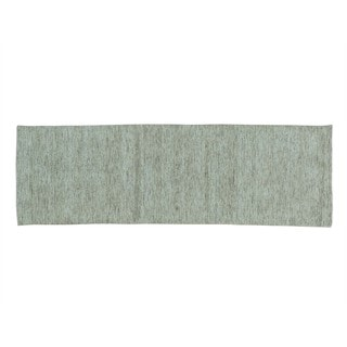 Thick and Plush Modern Loomed Gabbeh Runner Oriental Rug (2'7 x 8'1)